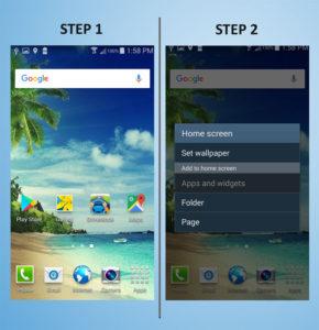 Samsung Galaxy S4 Mini Widget 1-2