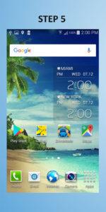 Samsung Galaxy S4 Mini Widget 5