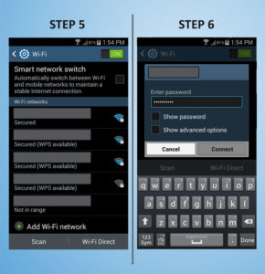 Samsung Galaxy S4 Mini WiFi 5-6