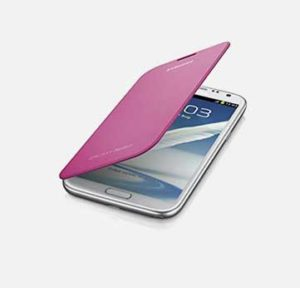 Pink Flip cover