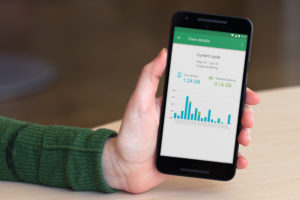 hand showing Project Fi cycle