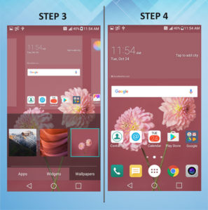 Troubleshooting the LG K10 Background 3-4