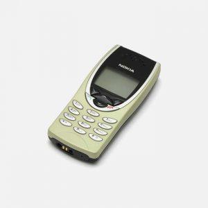 Green Nokia CandyBar Phone