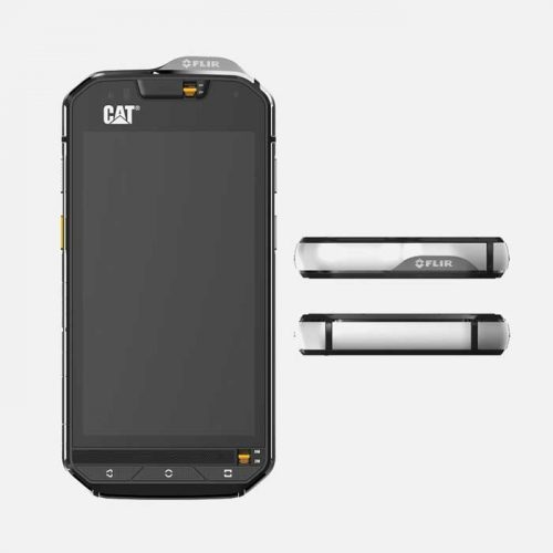 Cat S60 Back top and bottom