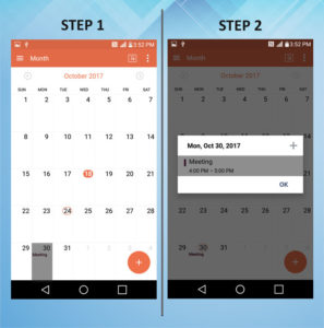 Troubleshooting the LG K8 Delete Calendar Event 1-2 (2)