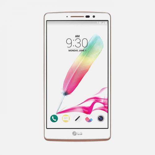 LG Stylo 2 White Front