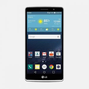 LG Stylo Black Front
