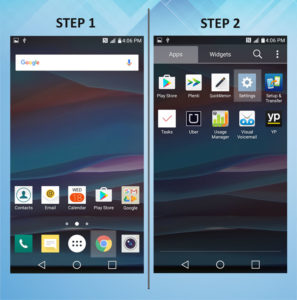 Troubleshooting the LG K8 Software Version 1-2