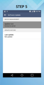 Troubleshooting the LG Vista 2 Software Version Update 5