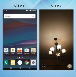 Troubleshooting the LG K8 Take Picture 1-2