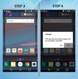 Troubleshooting the LG K8 Uninstall App 3-4