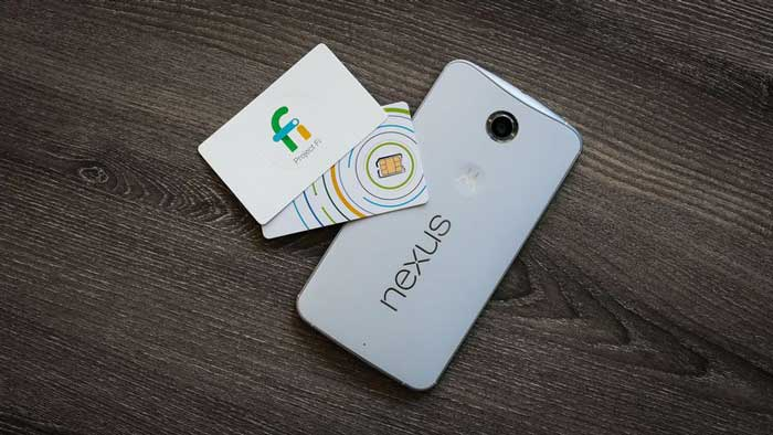 Project Fi card and phone