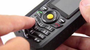 CAT B25 phone hand dialing