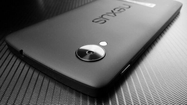 Nexus device on black