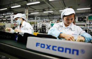 Foxconn company working on smartphones for Apple