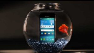 Kyocera Hydro Air in a Fish Tank