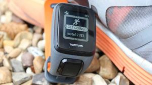 TomTom Spark 3 on rocks