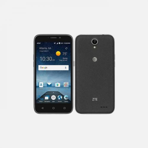 ZTE Maven 3 Front and Back