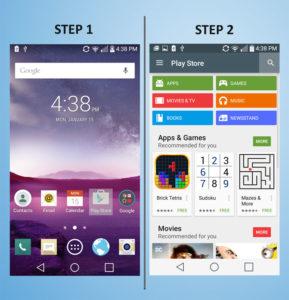 LG G3 Vigor - Add App 1-2