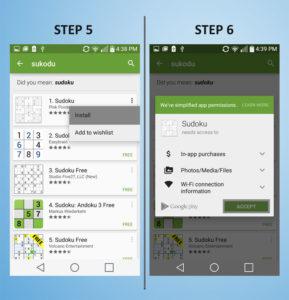 LG G3 Vigor - Add App 5-6