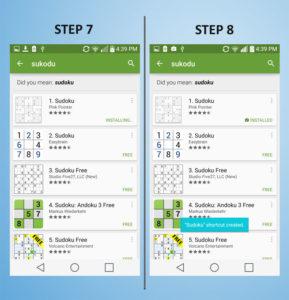 LG G3 Vigor - Add App 7-8