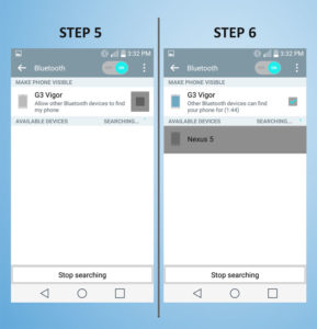LG G3 Vigor - Bluetooth 5-6