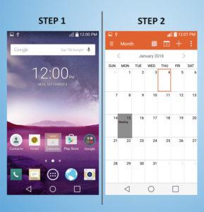 LG G3 Vigor - Delete Calendar Event 1-2