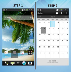 HTC One X - Remove Calendar Event 1-2