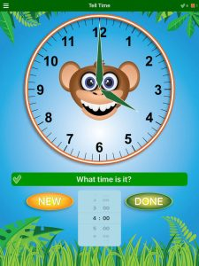 Jungle Time Phone App