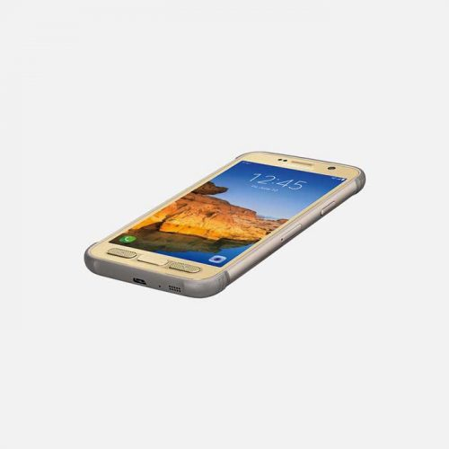 Samsung Galaxy S7 Active - Gold tilted 2