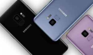 3 samsung s9 backs with interesting angles