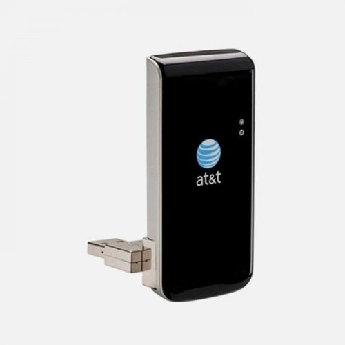 Sierra Wireless U305 3G Lightning USB Modem Angled