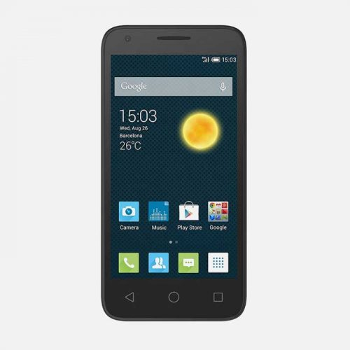 Alcatel Onetouch Pixi 3 Front