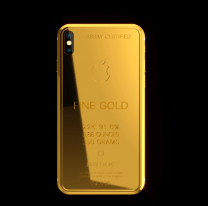 Lux iPhone X Ingot 250 iPhone Case