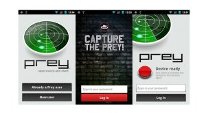 Prey Anti-Theft App
