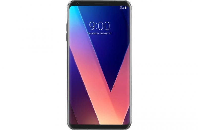 LG V30 smartphone front view