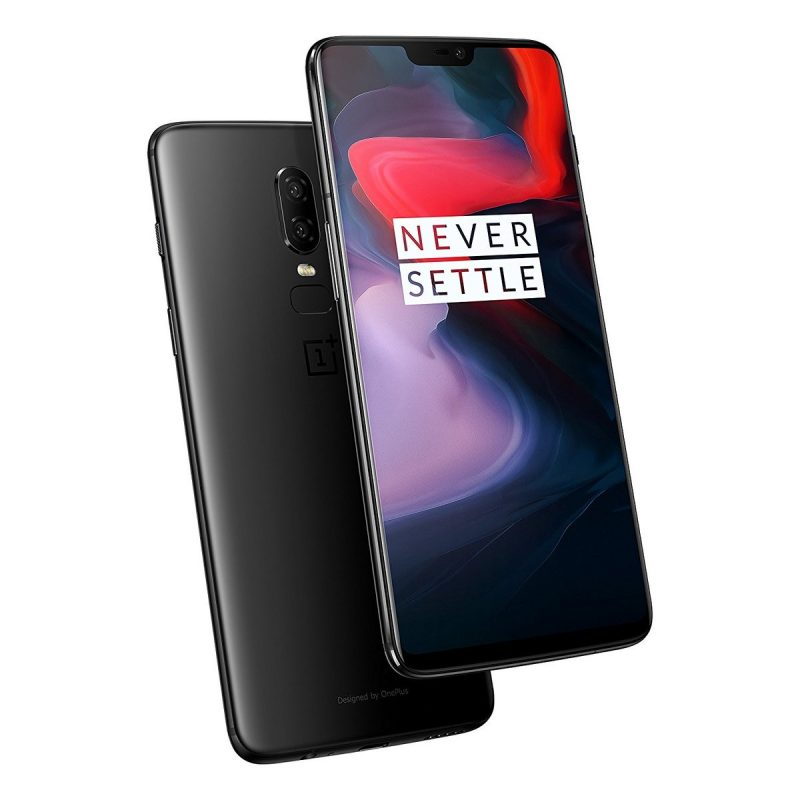 OnePlus 6 front and back view