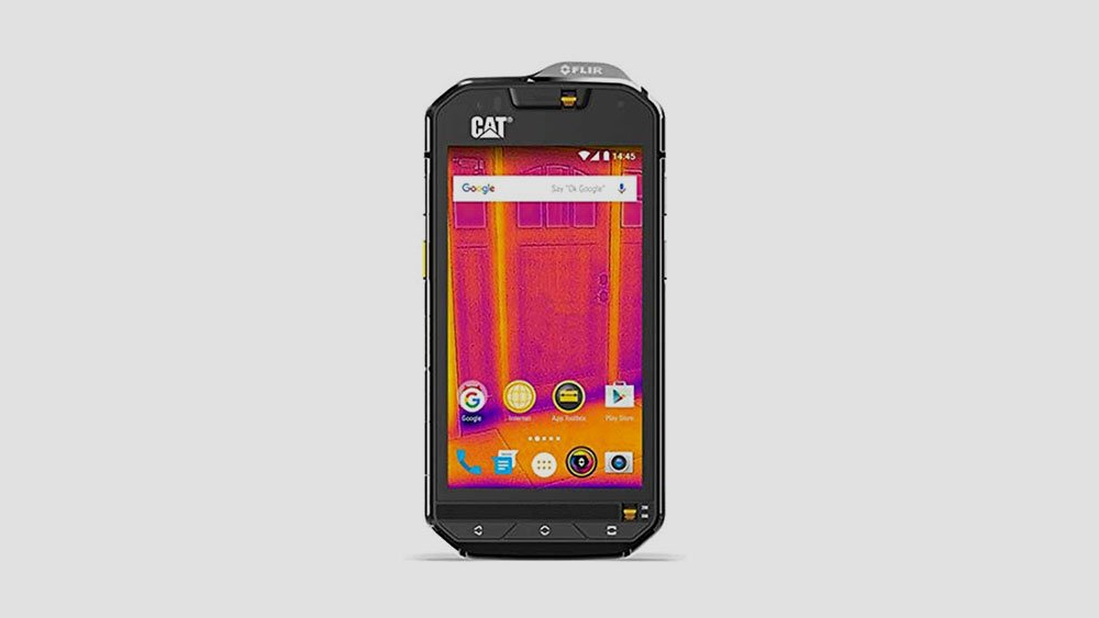 Cat S60 Front View
