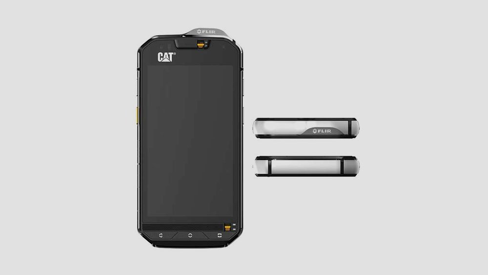Cat s60 Front and Side Views