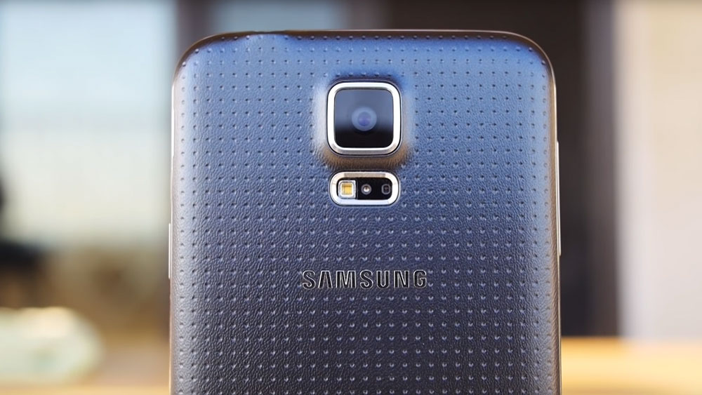 The camera of the Samsung Galaxy S5