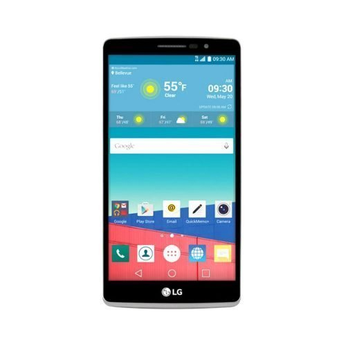 LG G Stylo Front View