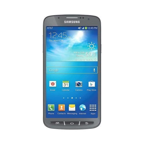 Samsung Galaxy S4 Active Gray Front View