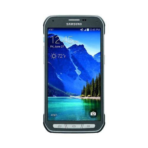 Samsung Galaxy S5 Active Gray Front View