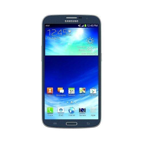 Samsung Galaxy Mega Black Front View