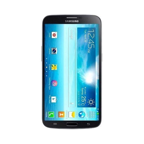 Samsung Galaxy Mega i527 Black Front View