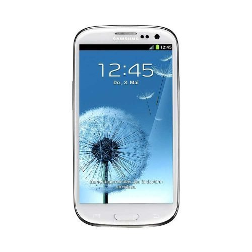 Samsung Galaxy S3 White Front View