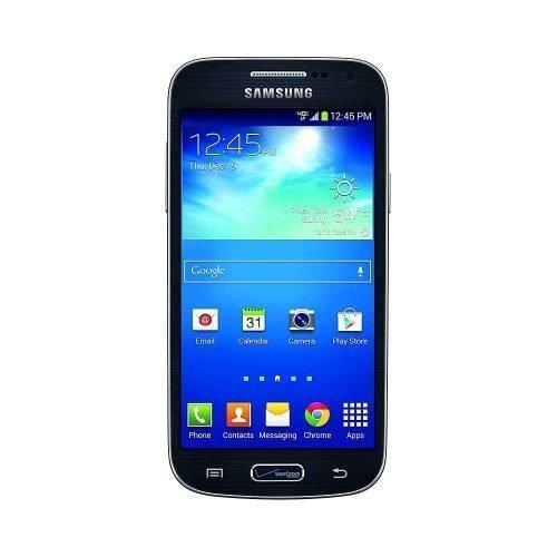 Samsung Galaxy S4 Mini Black Front View
