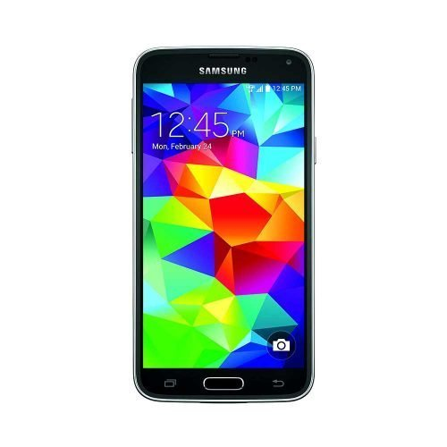 Samsung Galaxy S5 Black Front View