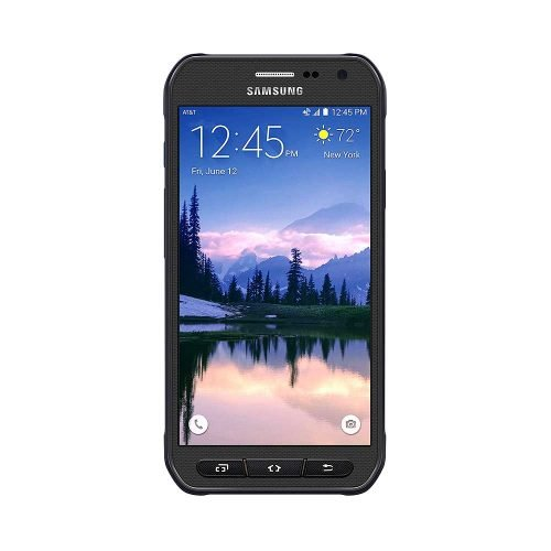 Samsung Galaxy S6 Active Gray Front View