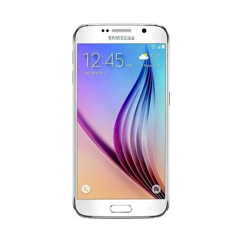 Samsung Galaxy S6 White Front View